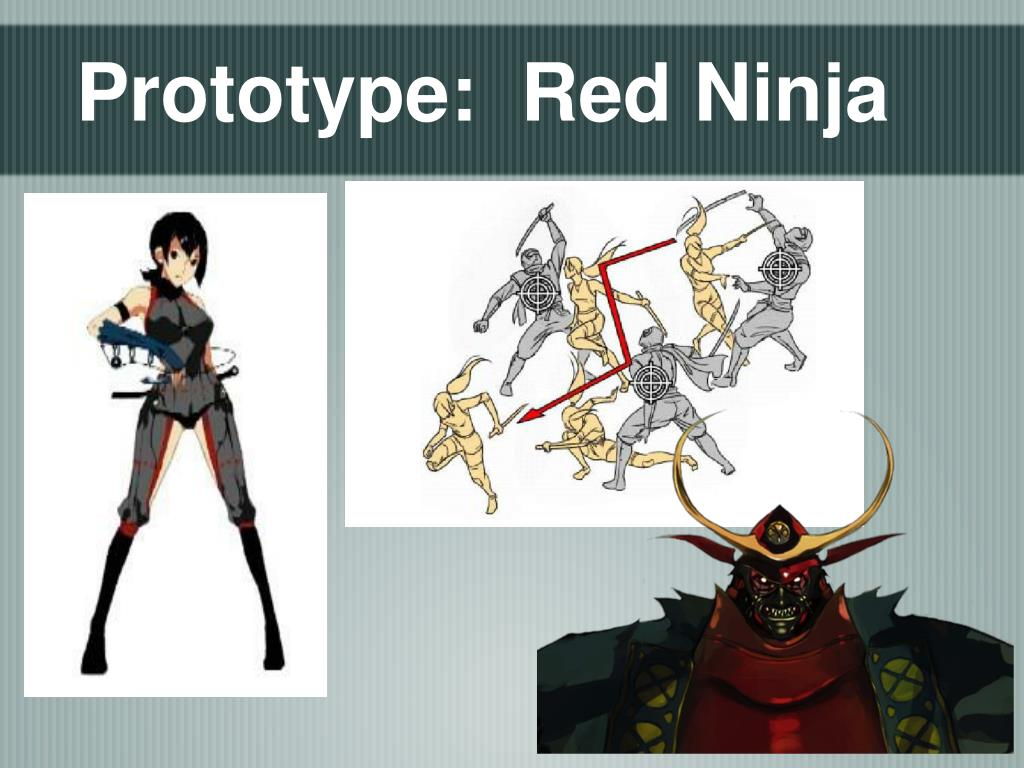 Prototype:  Red Ninja