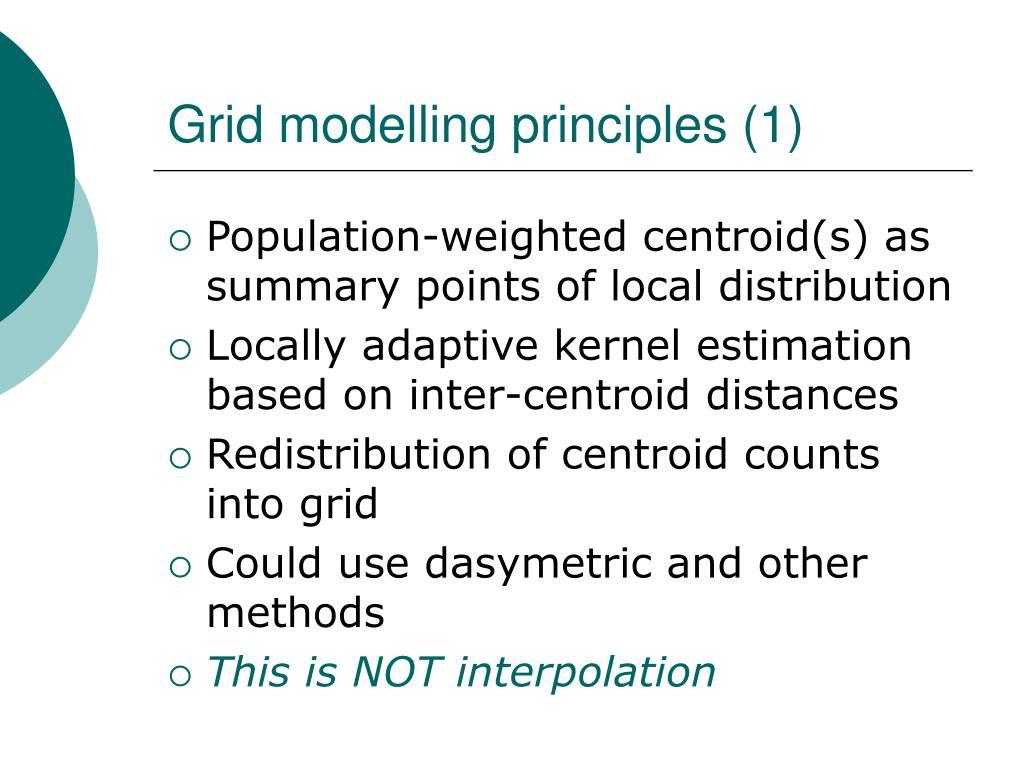 Grid modelling principles (1)