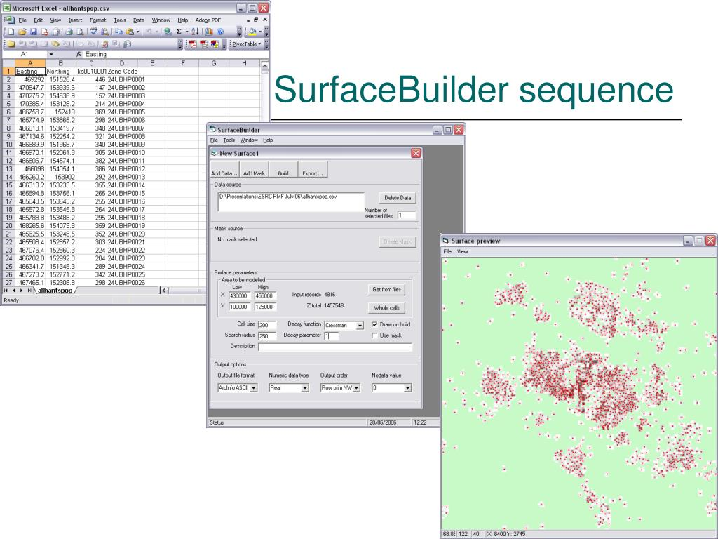 SurfaceBuilder sequence