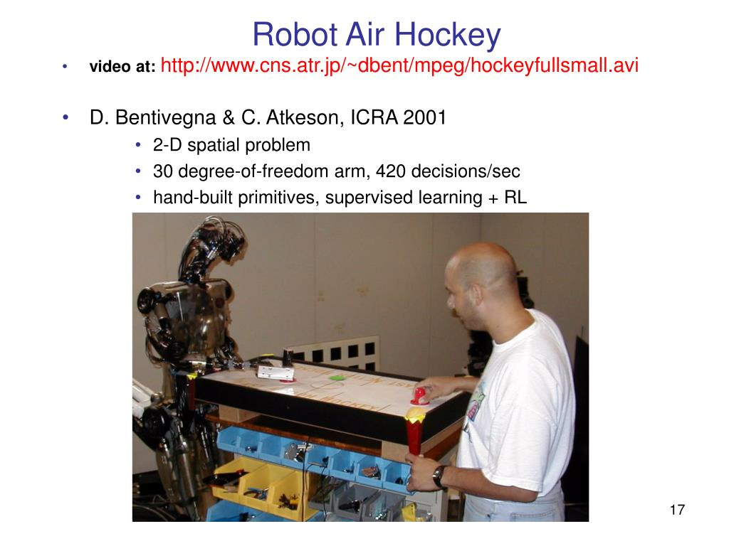 Robot Air Hockey