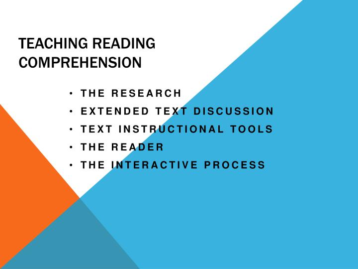 Teaching reading comprehension l.jpg