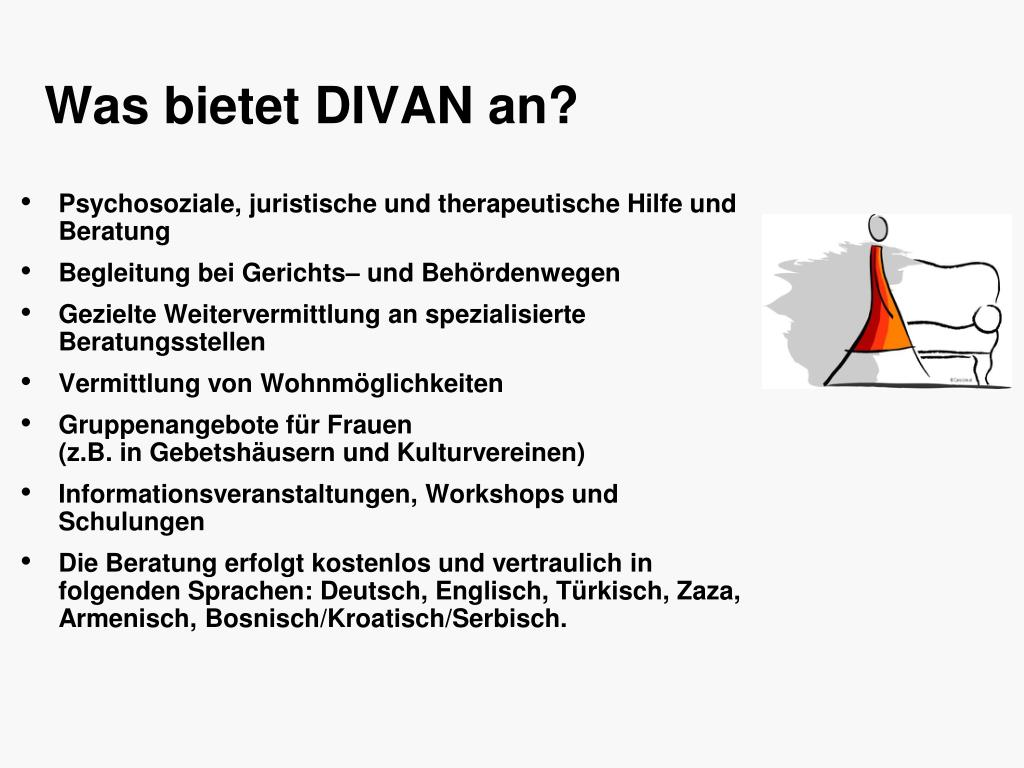 Was bietet DIVAN an?