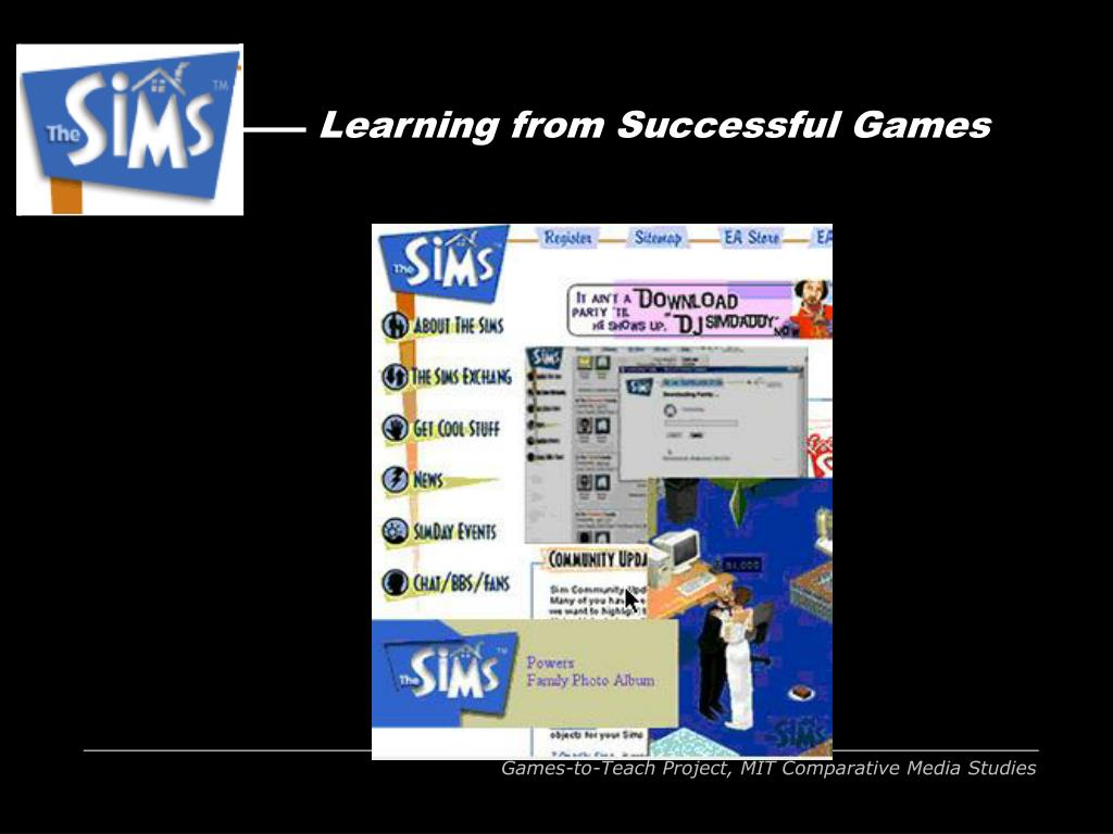Learning from Successful Games