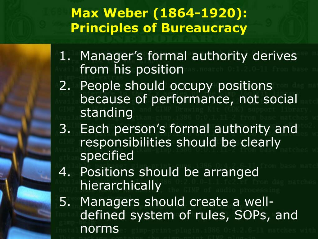 advantages and disadvantages of max webers theory of bureaucracy