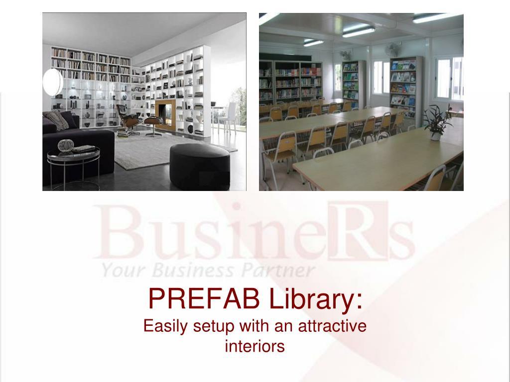 PREFAB Library: