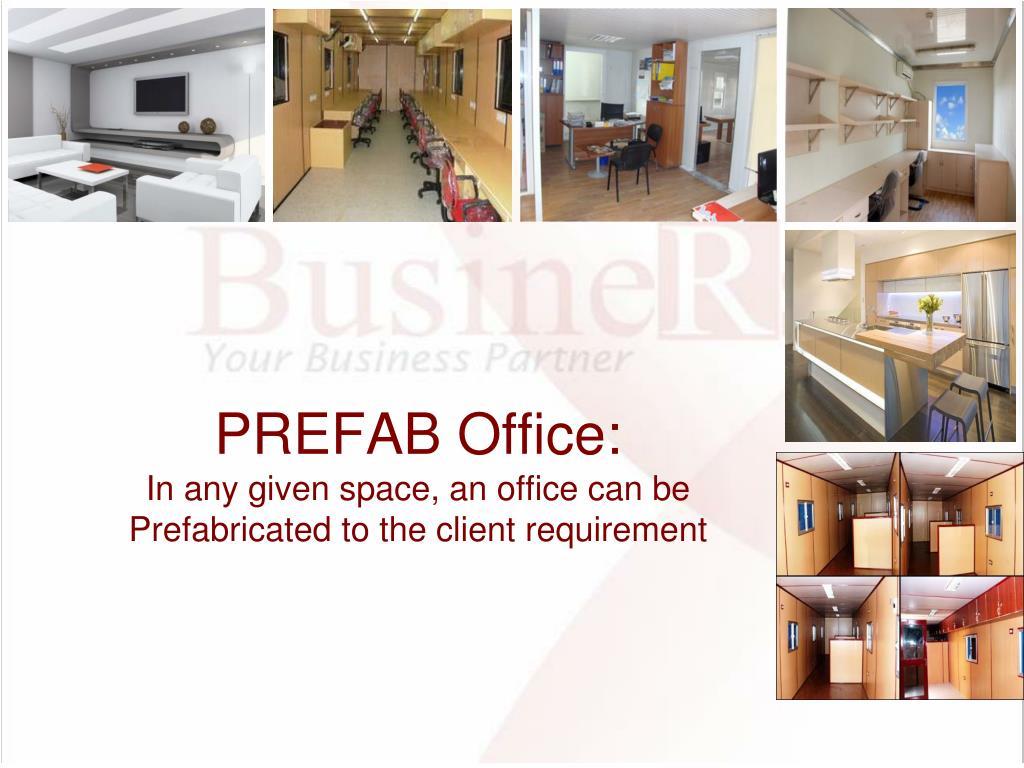 PREFAB Office: