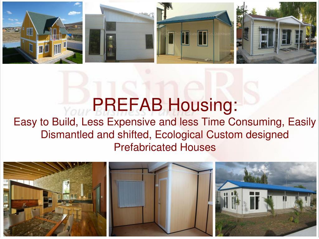 PREFAB Housing: