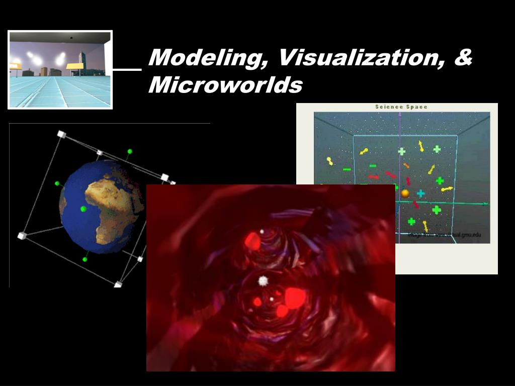 Modeling, Visualization, & Microworlds