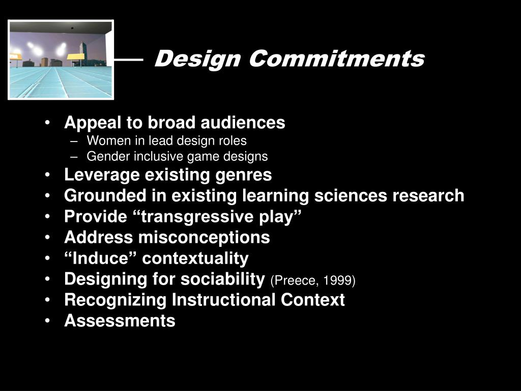 Design Commitments