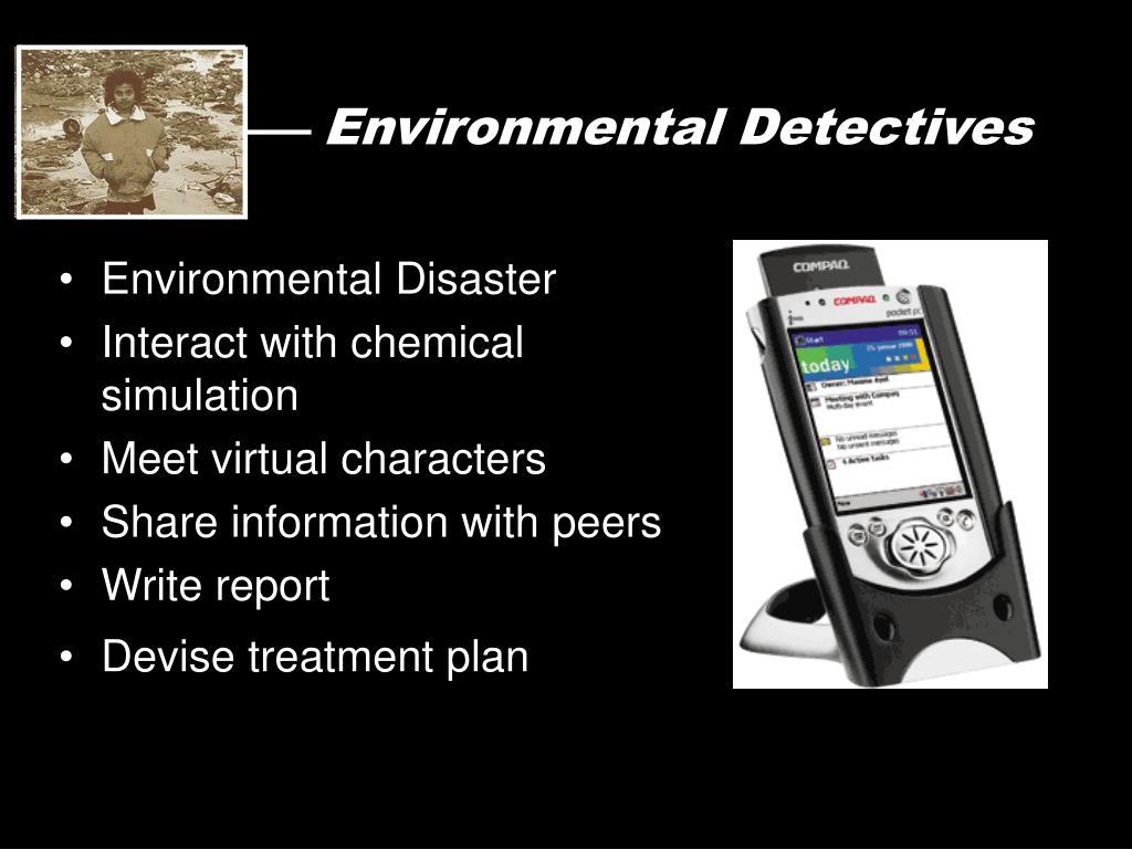 Environmental Detectives