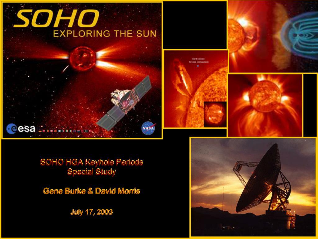 SOHO HGA Keyhole Periods