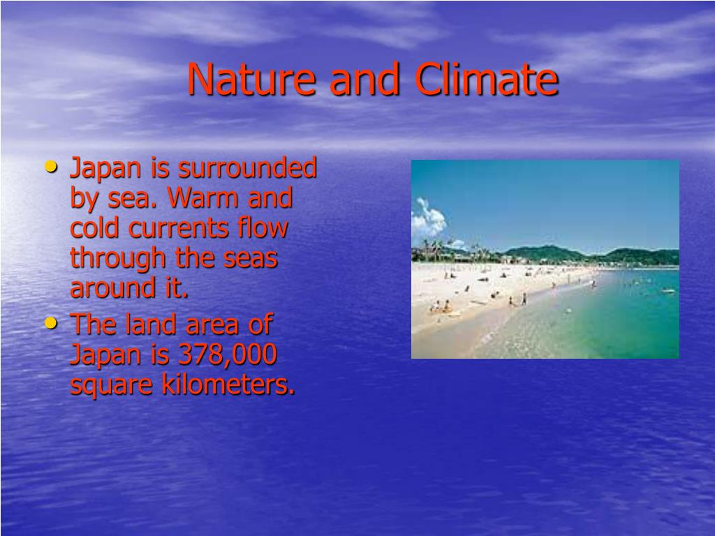 Nature and Climate