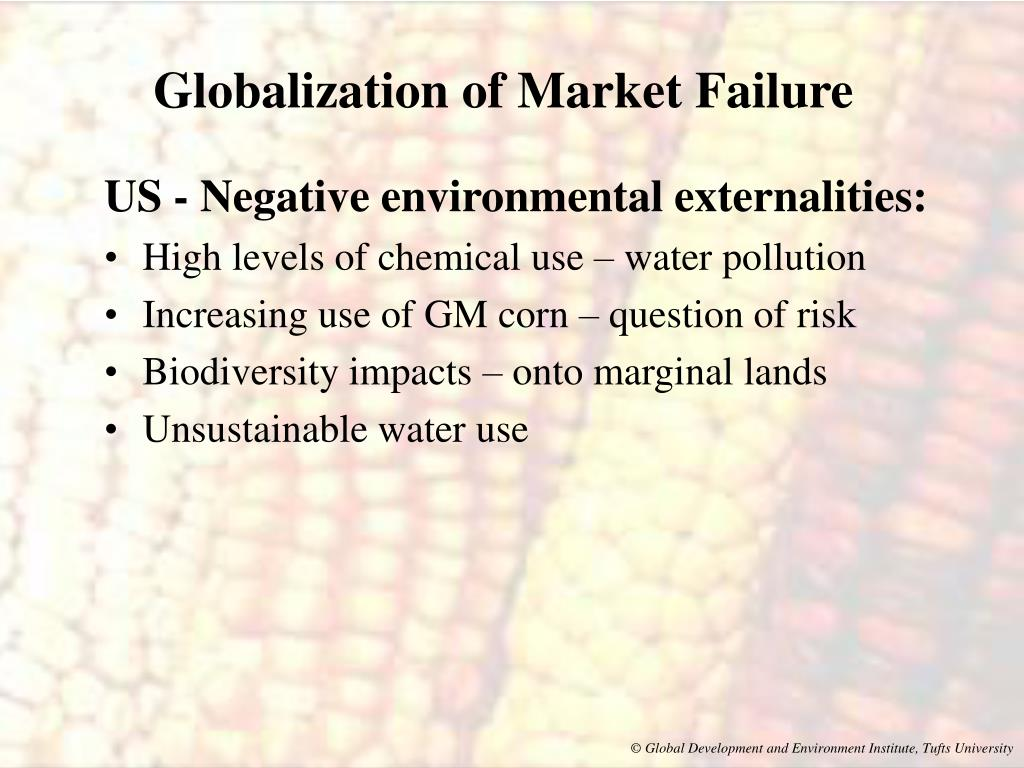 Globalization of Market Failure