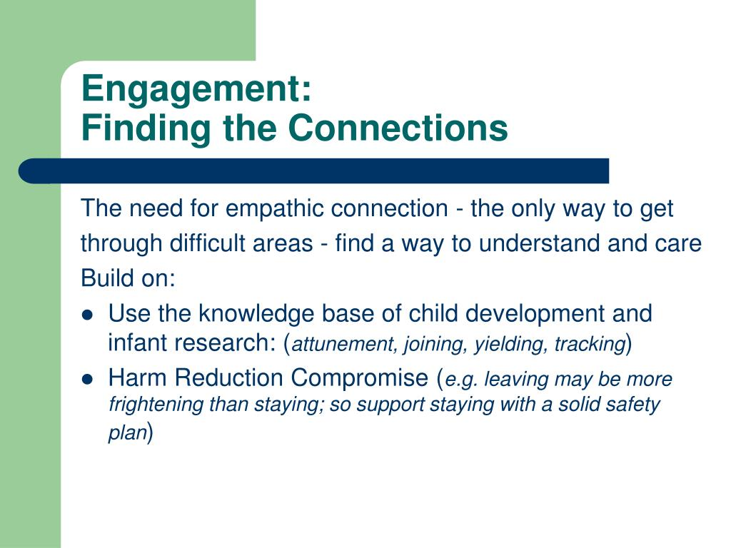 Engagement: