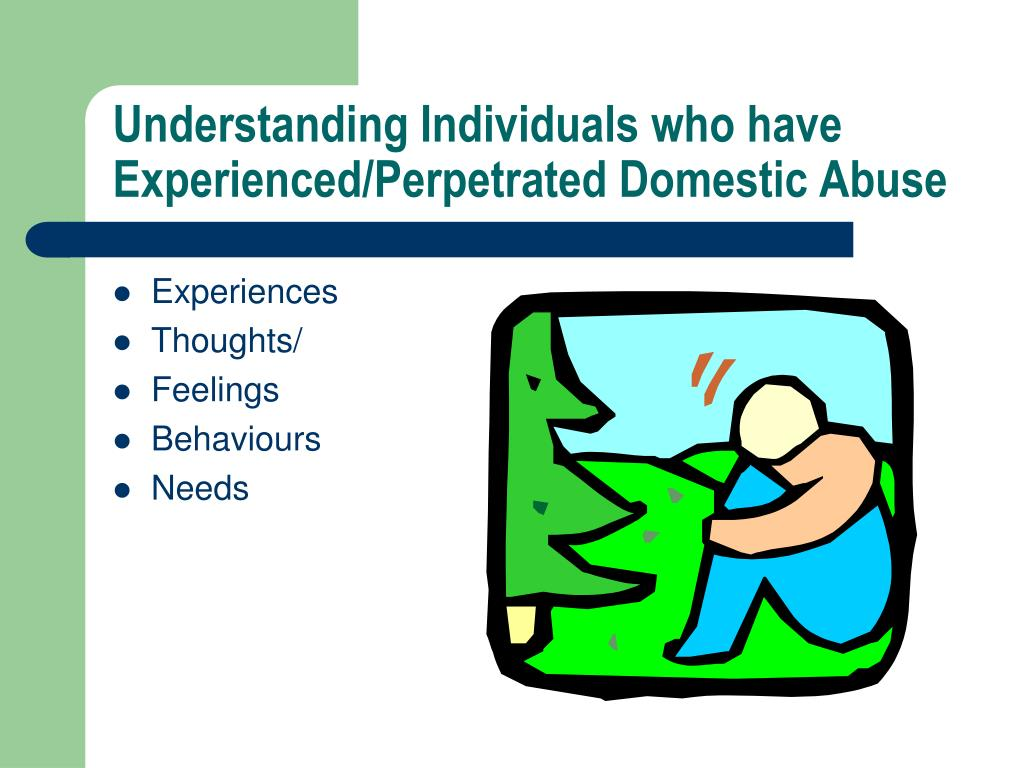 Understanding Individuals who have Experienced/Perpetrated Domestic Abuse