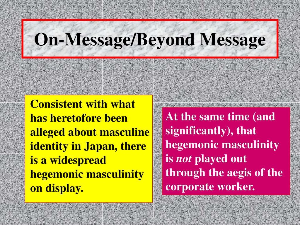 On-Message/Beyond Message
