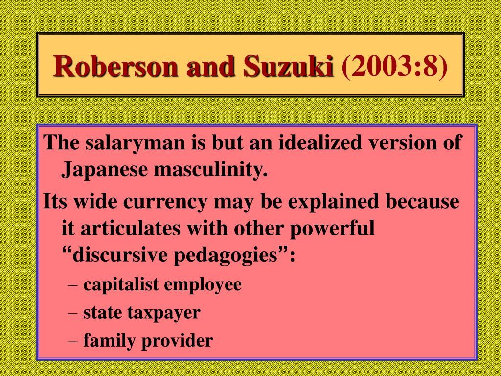 Roberson and Suzuki
