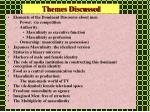 themes discussed
