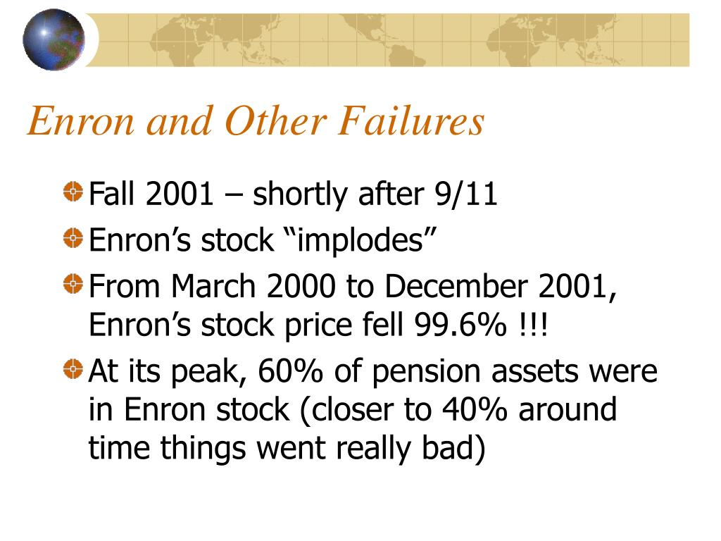 Stock options enron