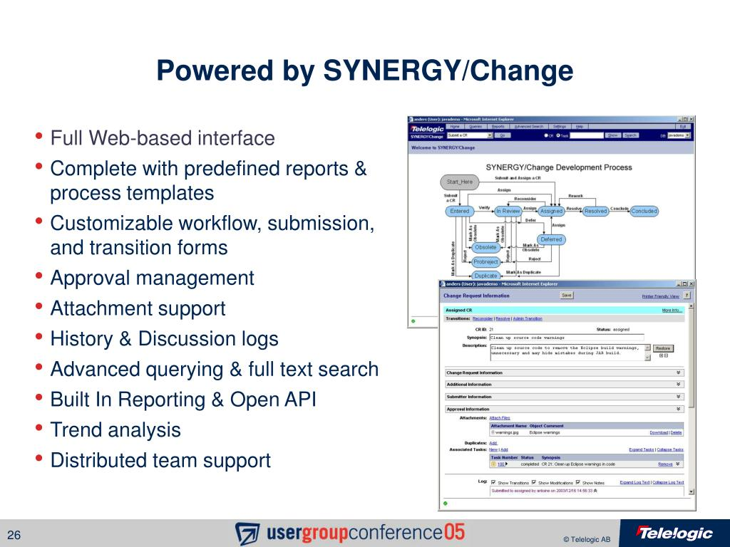 Powered by SYNERGY/Change