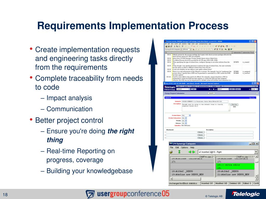 Requirements Implementation Process
