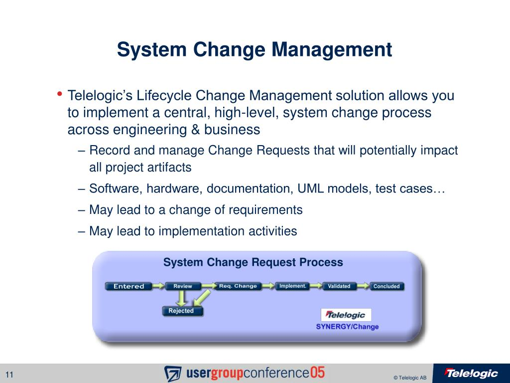 System Change Management
