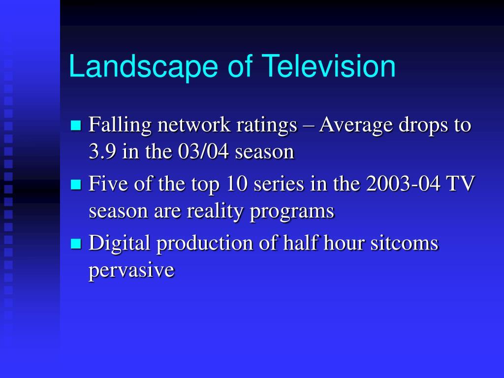 Landscape of Television