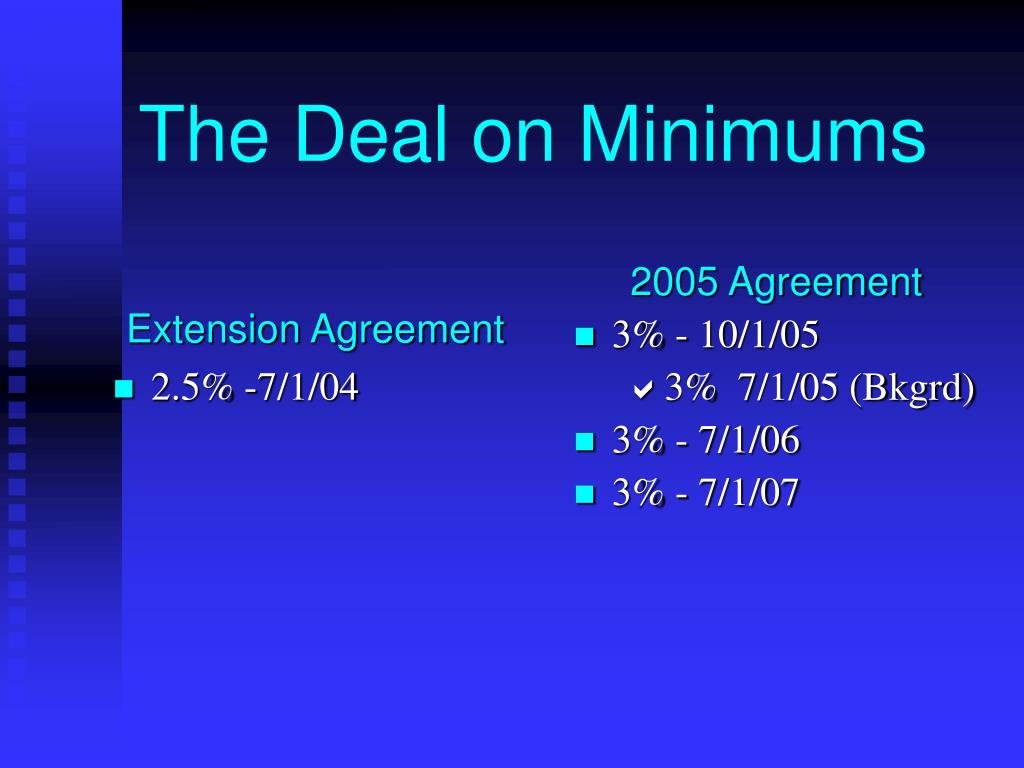 Extension Agreement