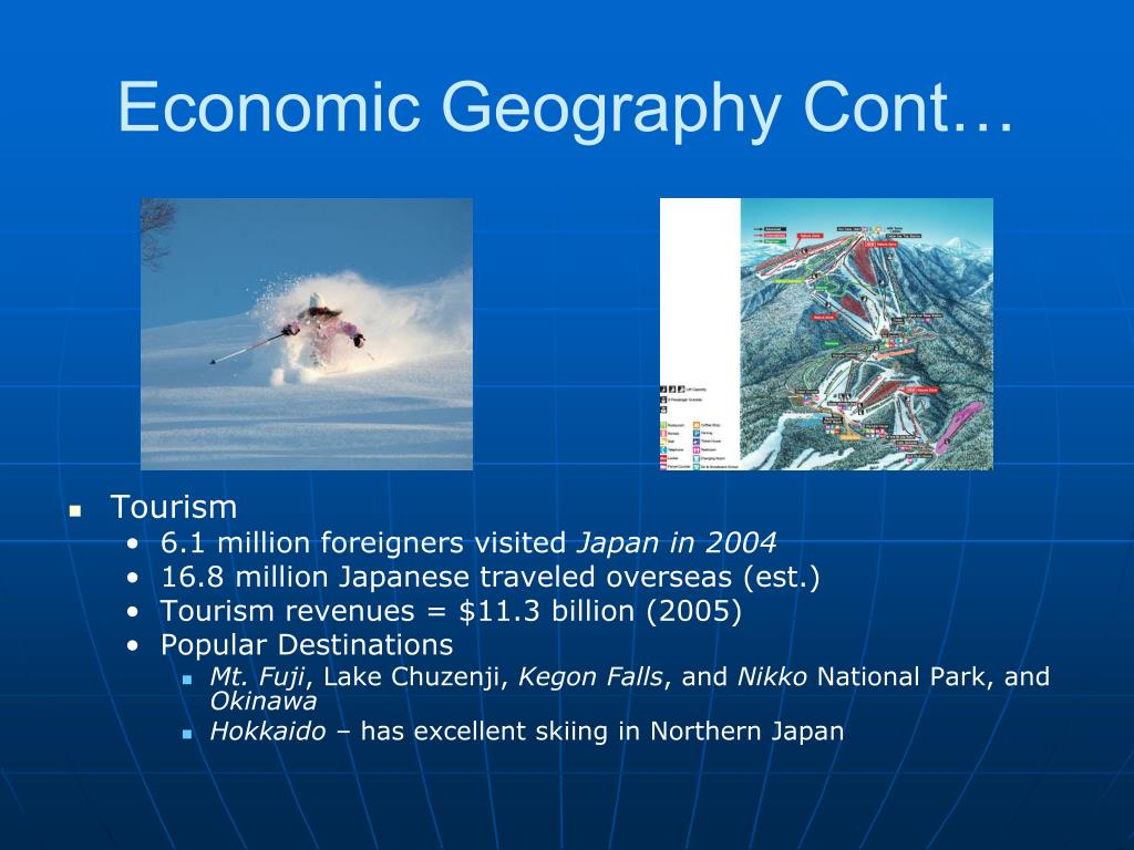 Economic Geography Cont…