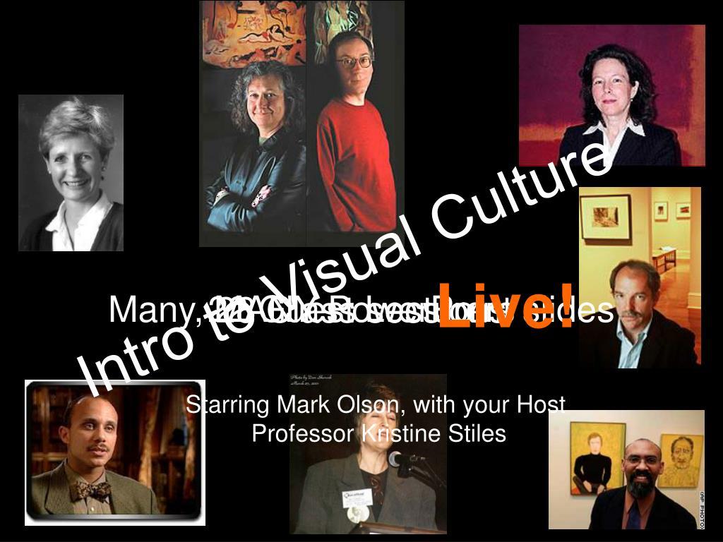 Intro to Visual Culture