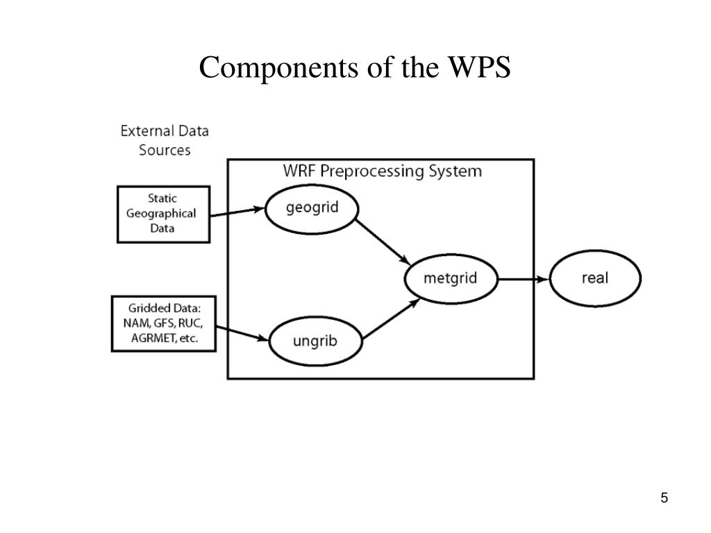 Components of the WPS
