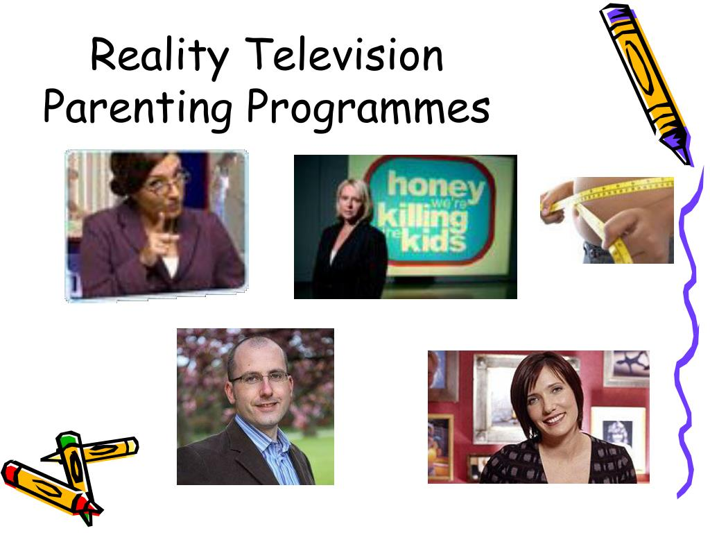 Reality Television Parenting Programmes
