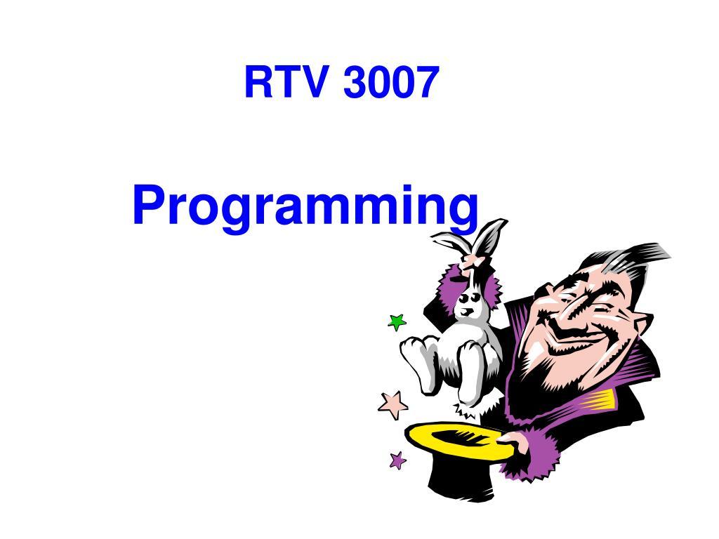 RTV 3007