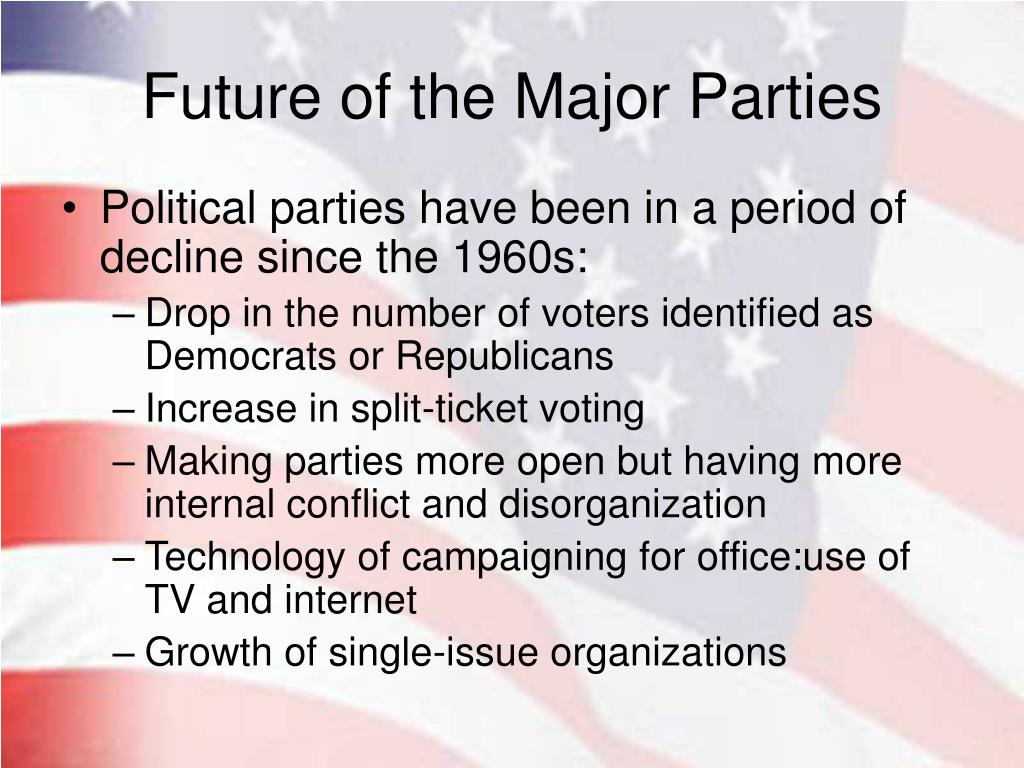 Future of the Major Parties