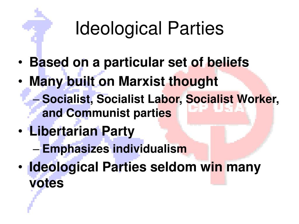Ideological Parties