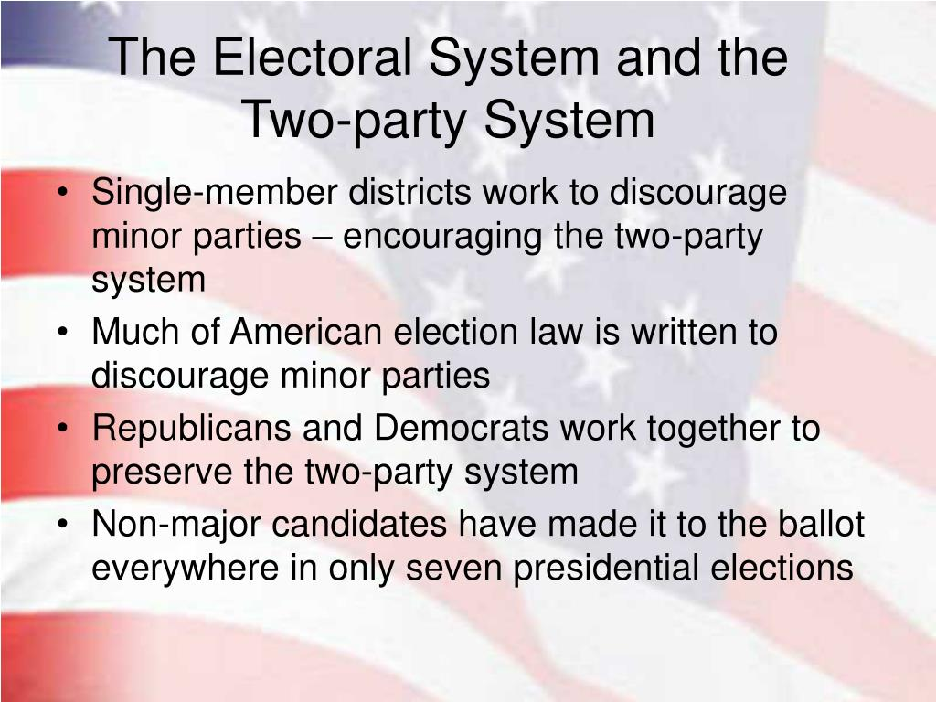 The Electoral System and the Two-party System