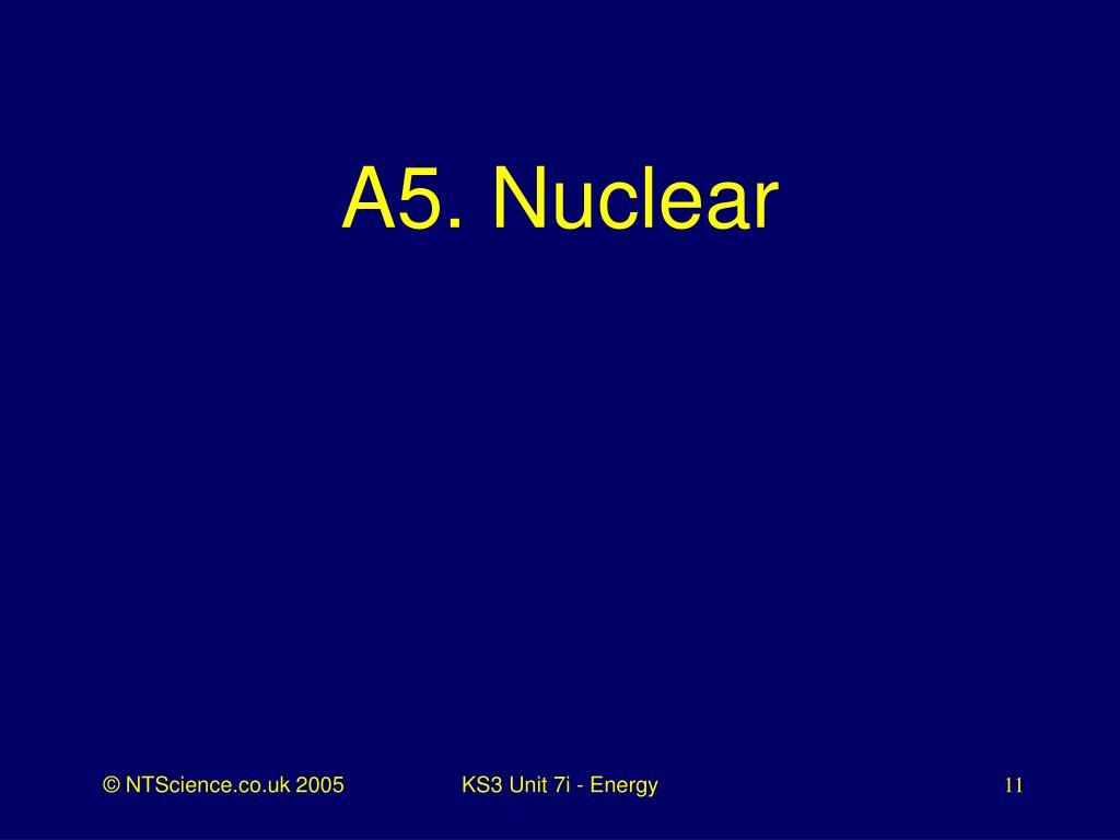 A5. Nuclear