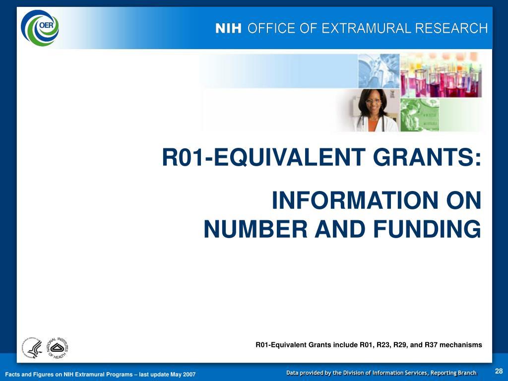 R01-EQUIVALENT GRANTS: