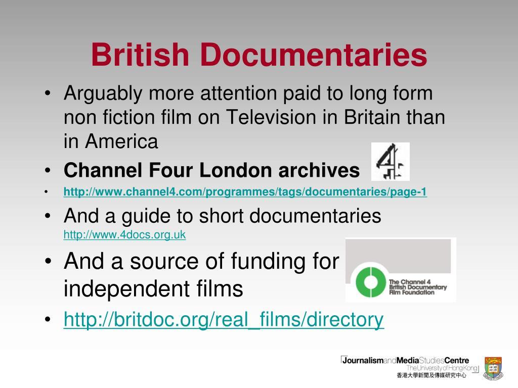 British Documentaries