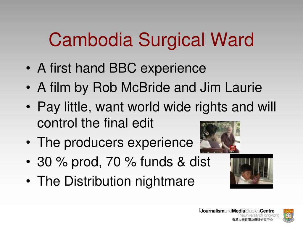 Cambodia Surgical Ward