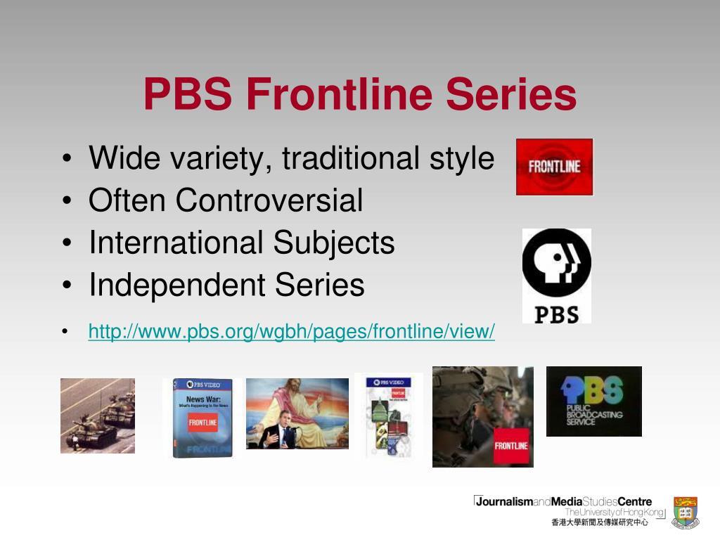 PBS Frontline Series