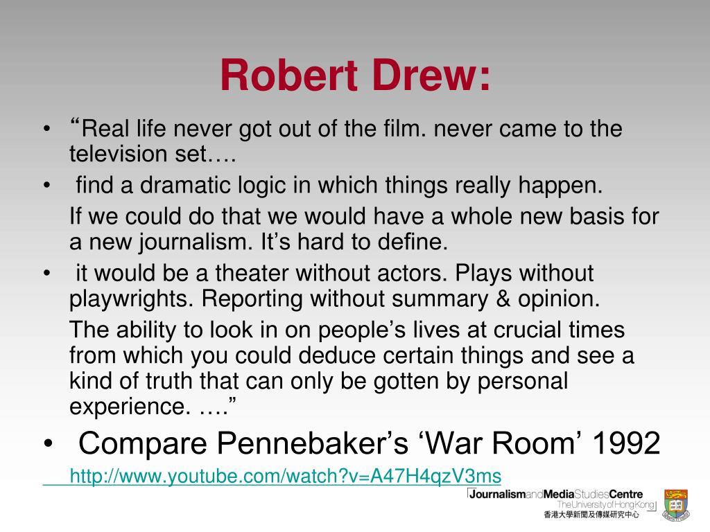 Robert Drew: