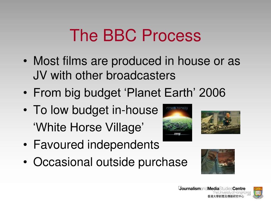 The BBC Process