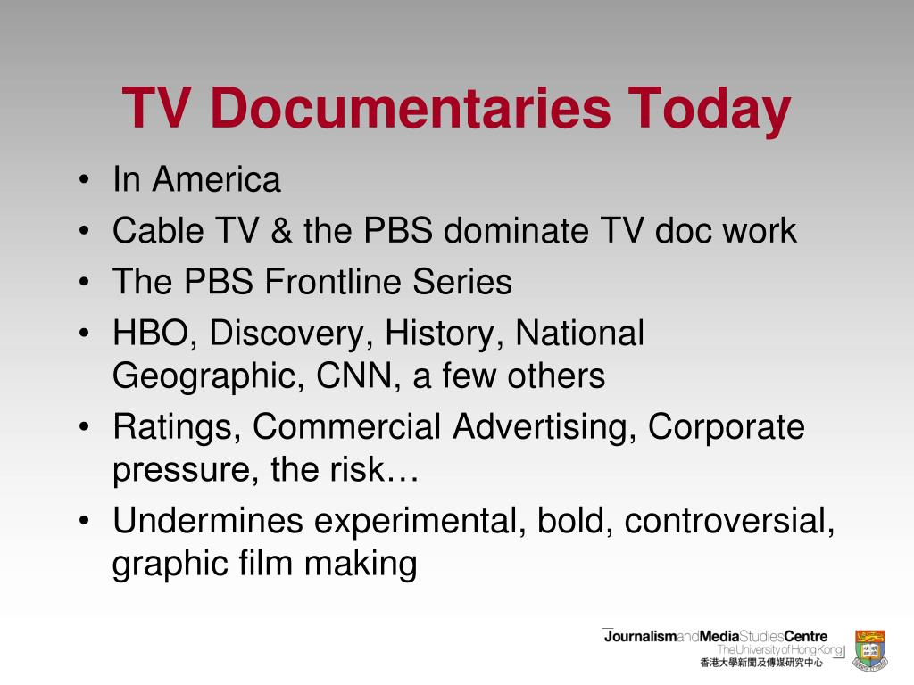 TV Documentaries Today