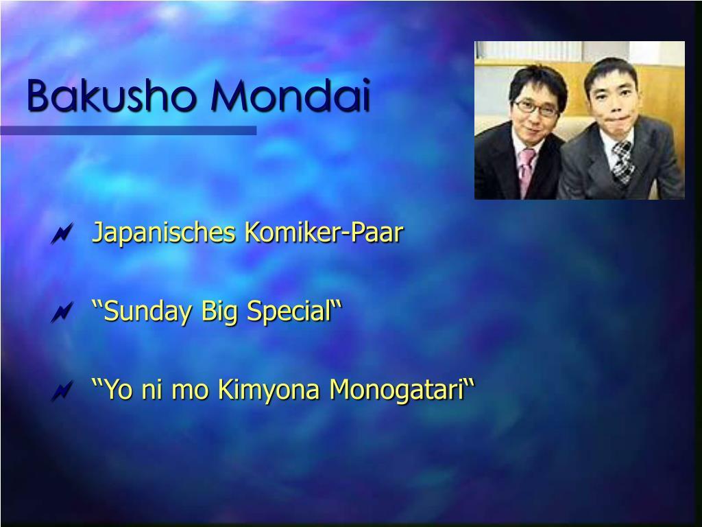Bakusho Mondai