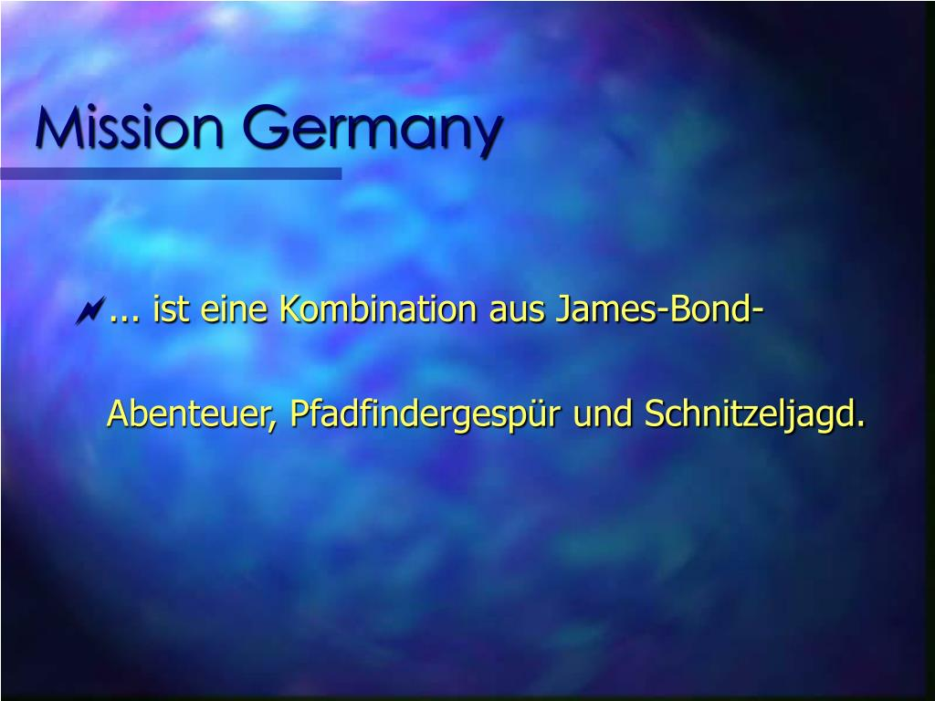 Mission Germany