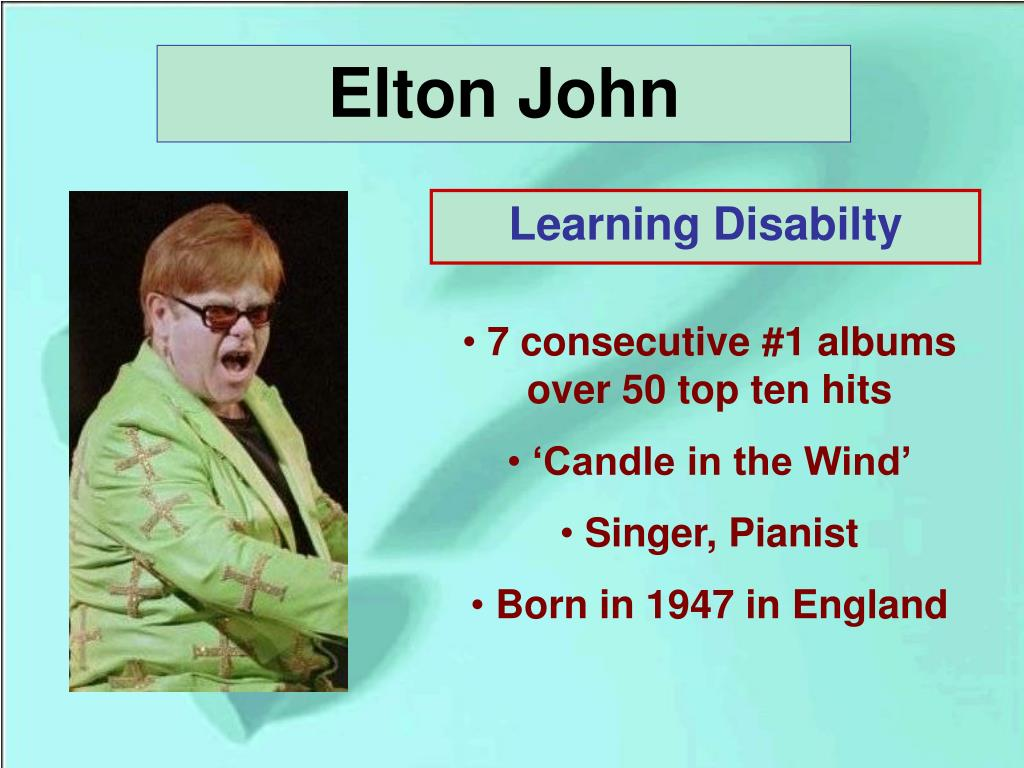 Learning Disabilty