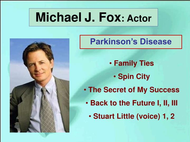 Michael j fox actor