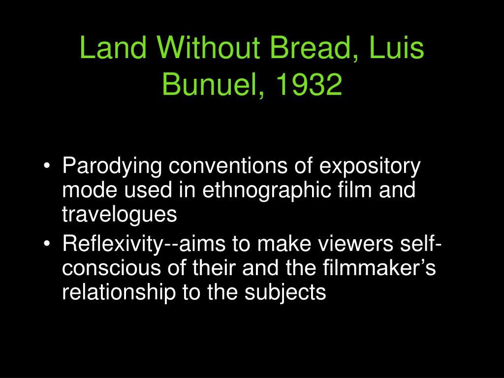 Land Without Bread, Luis Bunuel, 1932