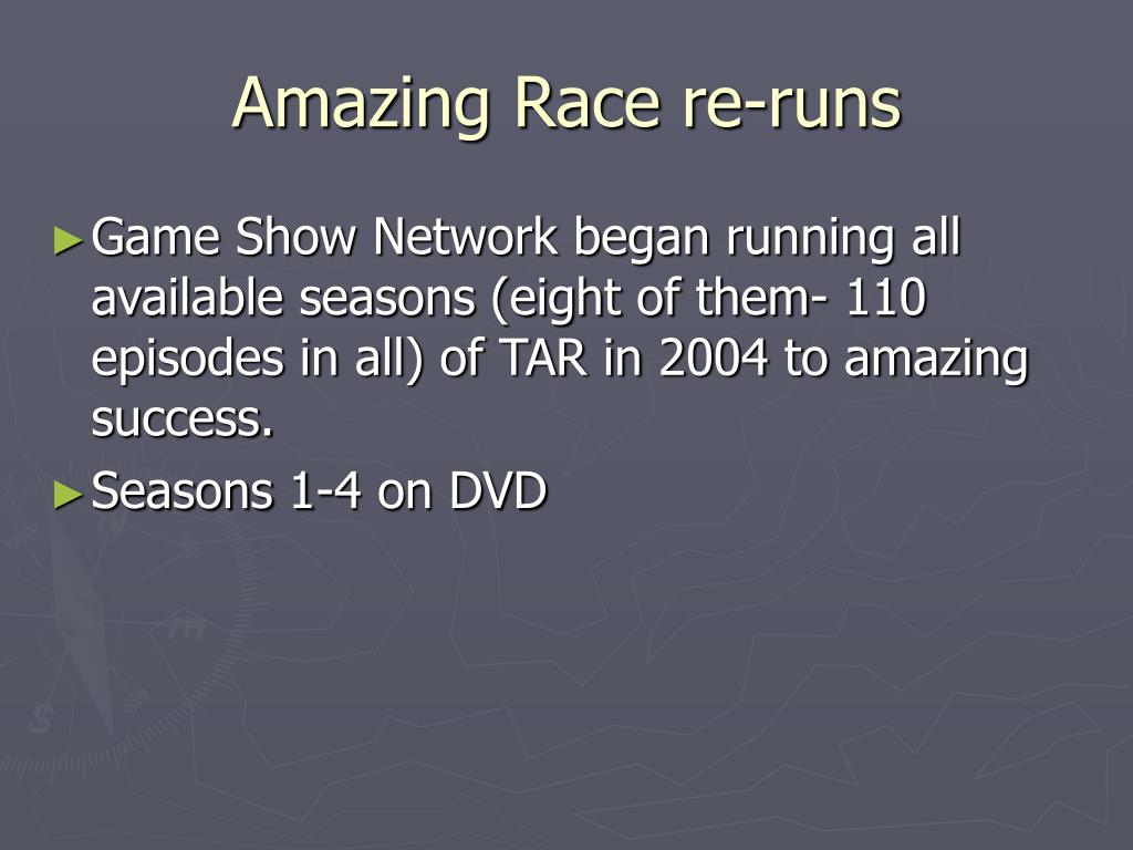 Amazing Race re-runs